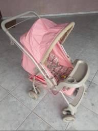 Carrinho de bebê (rosa)