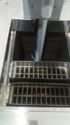 Maquina de sorvete de massa açai e picolé gelopar semi nova