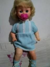 Boneca bebê chorinho estrela anos 70