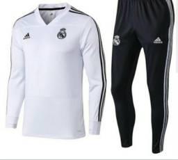 Agasalho Adidas Real Madrid Lançamento - Tamanho G 4b31adf2a1