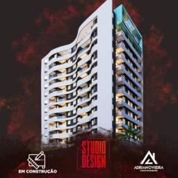 Studio Design, Imóvel com 03 Opções de Planta, na Ponta Verde. Em ate 100 Mensais
