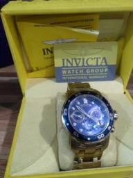 a52ff95fedd Relógio invicta pro diver 0073 ouro 18k