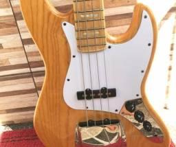 Baixo Sx Jazz Bass 4 Cordas Sjb75 Natural