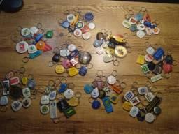 Coleção Lote Chaveiros Antigos
