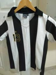 Camisa Futebol Retrô Botafogo feminina Zagalo