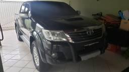 Hilux SRV aro 17 - 2012