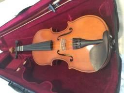 Violino com estojo