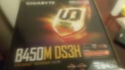 B450 placa + memoria