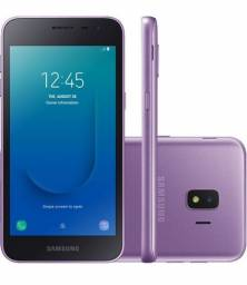 "Samsung Galaxy J2 Core 16GB Dual Chip Android Go 8.1 Tela 5"" Quad-Core 4G  - Violeta<br><br>"