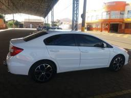 Honda Civic Branco 2012/2012 LXL -automático - Completo - Valor 49.900,00
