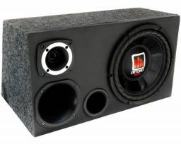 Caixa trio com amplificador stetson 280 w