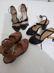 Combo de sapatos femininos número 34