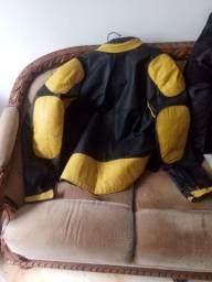 jaqueta de couro para motoca