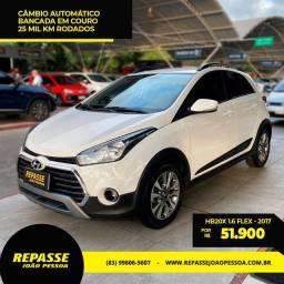HB20X 1.6 Automático -2017- Garantia Hyundai até 2022. Carro pouco rodado!