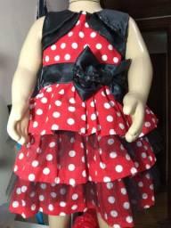 Vestido Minnie 2 anos