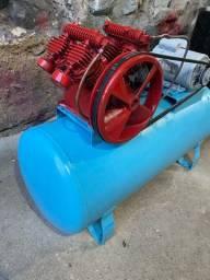Compressor 200l 15pés 2cv 110/220