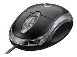 Mouses Usb 1000dpi Optical Preto C3 Tech Escritórios