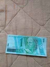 Vende-se uma nota de um real por 80,00