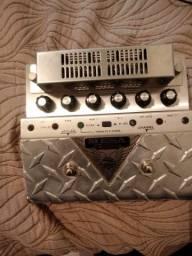 Pedal Mesa Boogie V Twin valvulado. Com Fonte