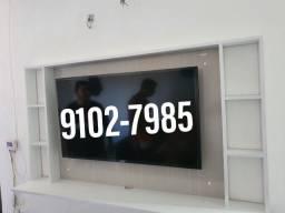 Painel para tv ate 50 com frete e instalação grátis deixamos sua tv no painel