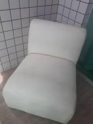 Jogo de 3 sofás de Courino Branco