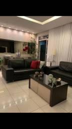 Lindo apartamento decorado com 2 áreas privativas