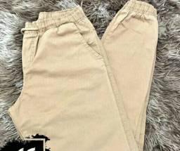 Calça jogger jeans masculinos Tamanho G
