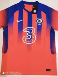 Camisa Chelsea Third Kit Nike 20/21 - Tamanhos: M, G