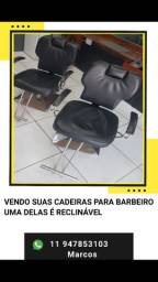 Cadeiras de Barbeiro