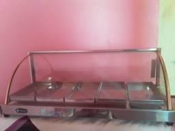 Estufa para salgados com 5 bandejas