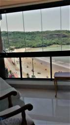 Apartamentos Para Temporada de Frente para o mar com 3 Quartos na Praia do Morro Guarapari