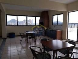 Apartamento à venda com 3 dormitórios em Guilhermina, Praia grande cod:AC845