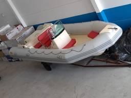 Bote nautiflex 7,60 metros motor mercruiser 1.7 turbo diesel 12 horas