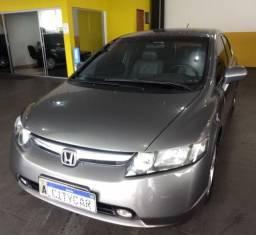 Civic New LXS 1.8 Automático Couro Placa A Carro Bem Conservado Todo Revisado