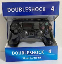Controle Ps4 Joystick Doubleshock 4 Gamer Pro Wired Pc