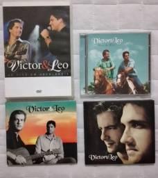 Cds e Dvd Victor e Léo - Originais - Sorocaba/SP.