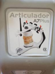 Articulador bio-art semi ajustável com arco facial