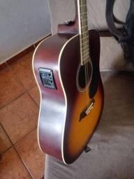 Vendo violão Michael elétrico novo.
