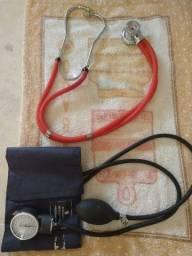 Vendo o kit de aferição de pressão bem conservado