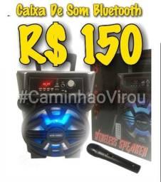 Caixa De Som Bluetooth C/Microfone ( Centro - RJ ) #CaminhaoVirou