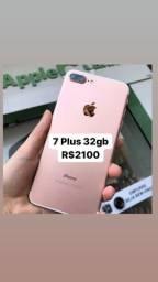 IPhone 7 Plus 32gb Rosé - Aceito Cartão