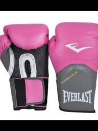 Luva De Boxe Everlast Rosa