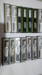 Memorias Ecc servidor de 4Gb e 8Gb ddr3