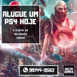 Aluguel de PS4