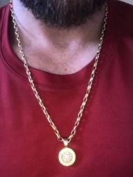 Cordao de Ouro 18k 750 Cartier 9Gramas