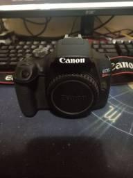Câmera Canon T7 + 50mm Praticamente Nova.