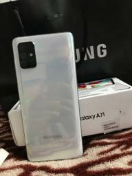 Samsung galaxy A71 aceito cartão de credito