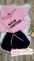 Conjunto now united pronto entrega