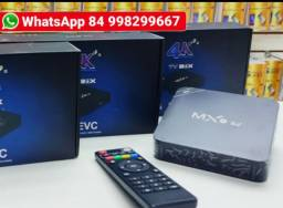 Tv box mx9 64gb de memoria 4gb de RAM 5G android 10.0<br><br>