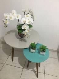 Vendo mesa lateral off-White
